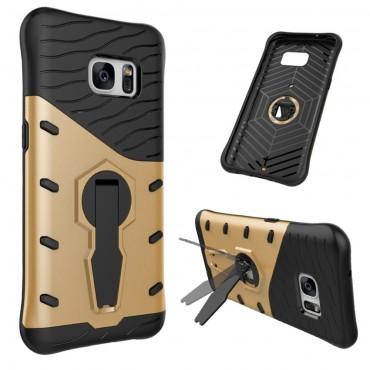 """Robustní obal """"Armor"""" pro Samsung Galaxy S7 - zlaté barvy"""