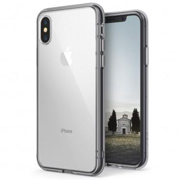 """Obal Ringke """"Fusion"""" pro iPhone X - kouřově černý"""