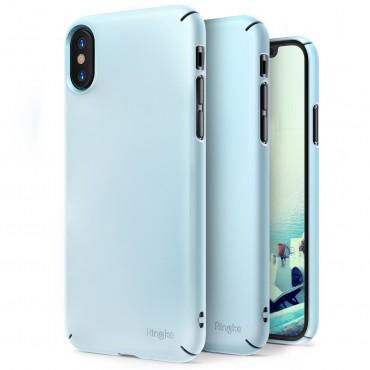 """Kryt Ringke """"Slim"""" pro iPhone X - sky blue"""
