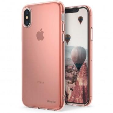 """Obal Ringke """"Air"""" pro iPhone X - růžově zlatý"""