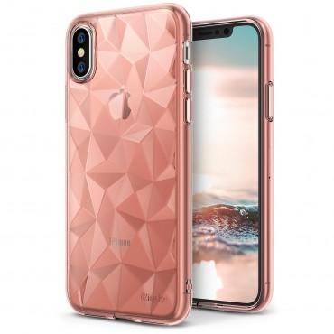 """Kryt Ringke """"Air Prism"""" pro váš iPhone X – růžově zlatý"""