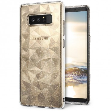 "Kryt Ringke ""Air Prism"" pro váš Samsung Galaxy Note 8 – glitter clear"