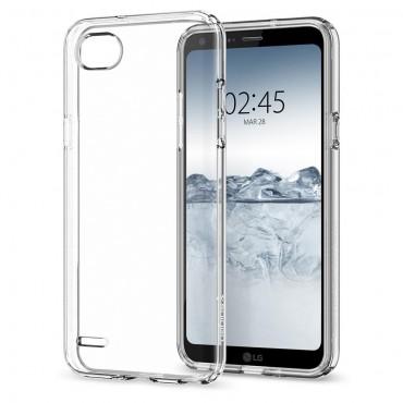 """Kryt Spigen """"Liquid Crystal"""" pro LG Q6"""