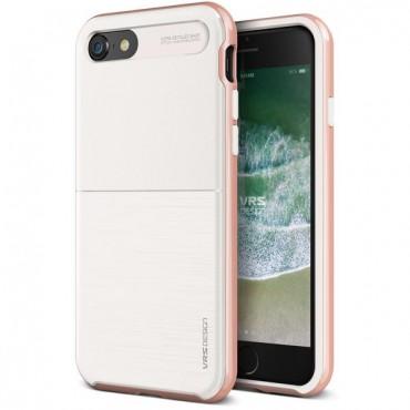 "Kryt VRS Design ""High Pro Shield"" pro iPhone 8 / iPhone 7 - white rose gold"