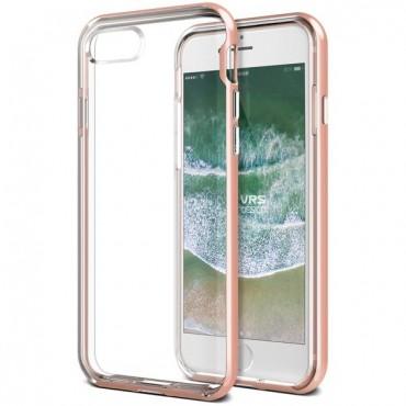 """Kryt VRS Design """"Crystal Bumper"""" pro iPhone 8 / iPhone 7 - rose gold"""