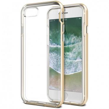 """Kryt VRS Design """"Crystal Bumper"""" pro iPhone 8 / iPhone 7 - gold"""