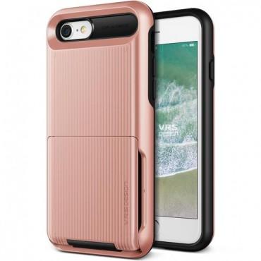 "Kryt VRS Design ""Damda Folder"" pro iPhone 8 / iPhone 7 - rose gold"
