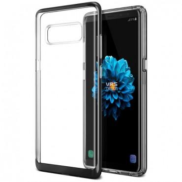 "Kryt VRS Design ""Crystal Bumper"" pro Samsung Galaxy Note 8 - metal black"