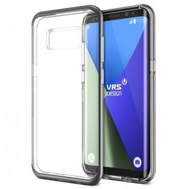 "Kryt VRS Design ""Crystal Bumper"" pro Samsung Galaxy S8 - dark silver"