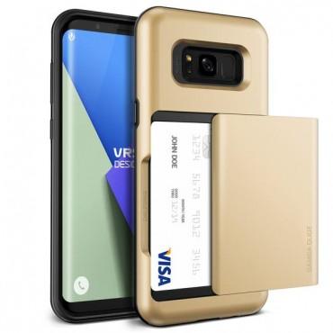 "Obal VRS Design ""Damda Glide"" pro Samsung Galaxy S8 - zářivě zlatý"