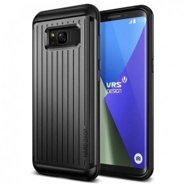 "Obal VRS Design ""Thor"" pro Samsung Galaxy S8 - tmavě stříbrný s vlnkami"