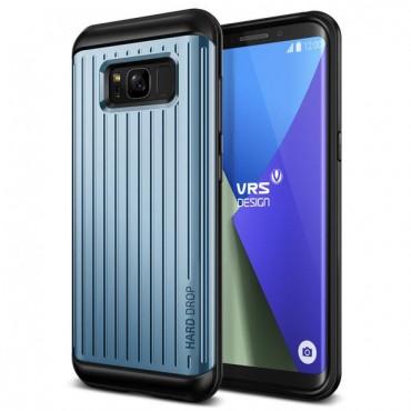 "Obal VRS Design ""Thor"" pro Samsung Galaxy S8 - modrý korál s vlnkami"