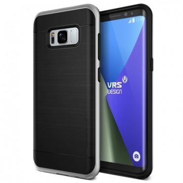 """Obal VRS Design """"High Pro Shield"""" pro Samsung Galaxy S8 Plus - světle stříbrný"""