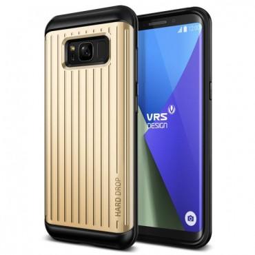 """Obal VRS Design """"Thor"""" pro Samsung Galaxy S8 Plus - lesklé zlato s vlnkami"""