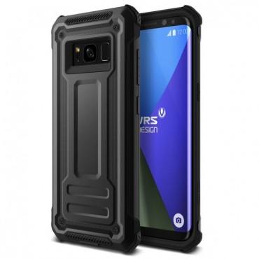"Kryt VRS Design ""Terra Guard"" pro Samsung Galaxy S8 Plus - dark silver"