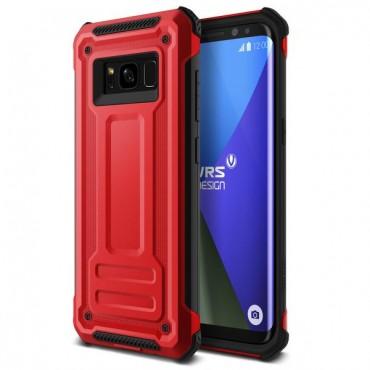 "Obal VRS Design ""Terra Guard"" pro Samsung Galaxy S8 Plus - rudě červený"