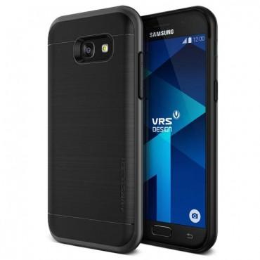 "Kryt VRS Design ""High Pro Shield"" pro Samsung Galaxy A5 2017 - steel silver"