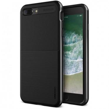 """Obal VRS Design """"High Pro Shield"""" pro iPhone 8 Plus - kovově černý"""