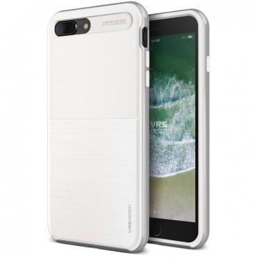 """Obal VRS Design """"High Pro Shield"""" pro iPhone 8 Plus - bíle stříbrný"""