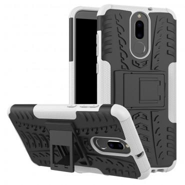 "Hybridní gelový TPU obal ""Tough"" pro Huawei Mate 10 Lite - bílý"