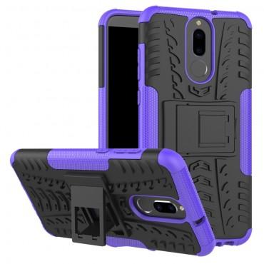 """Hybridní gelový TPU obal """"Tough"""" pro Huawei Mate 10 Lite - fialový"""