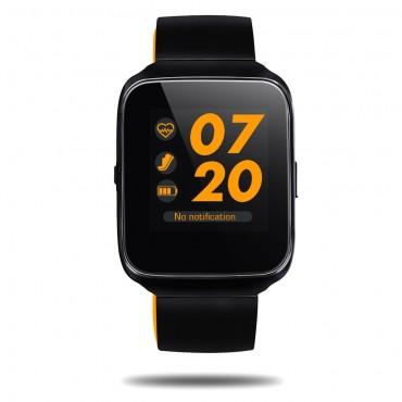 """Prémium inteligentné Bluetooth hodinky """"Z40"""" pre iOS a Android zariadenia – oranžová"""