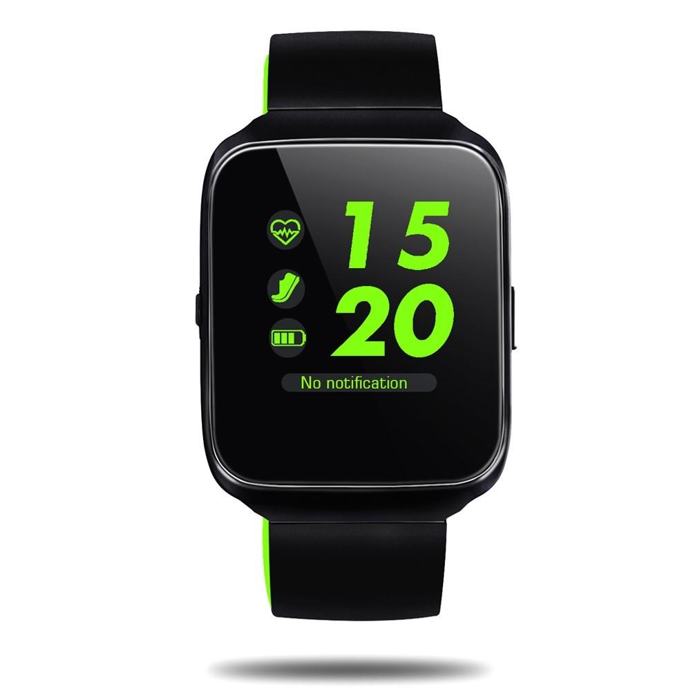 """Prémium inteligentné Bluetooth hodinky """"Z40"""" pre iOS a Android zariadenia – zelená"""