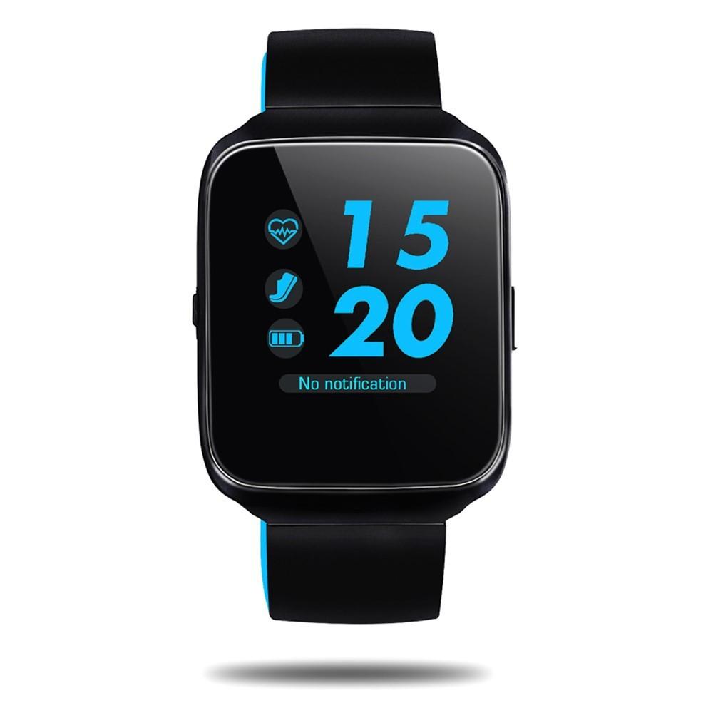 """Prémium inteligentné Bluetooth hodinky """"Z40"""" pre iOS a Android zariadenia – modrá"""