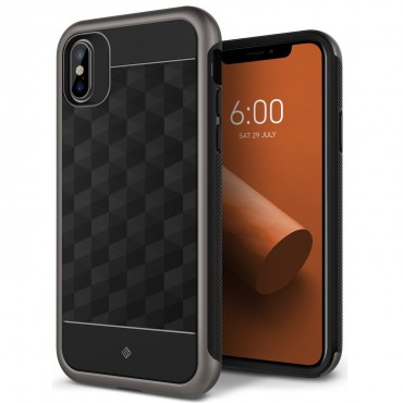 Kryt Caseology Parallax Series pro iPhone X - warm gray