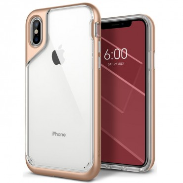 Kryt Caseology Skyfall Series pro iPhone X - gold