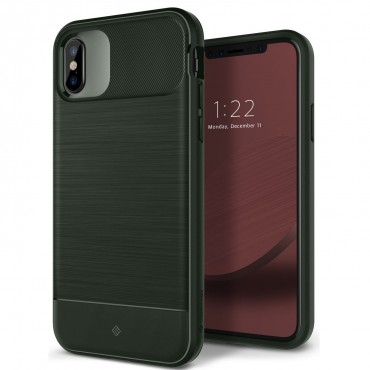 Kryt Caseology Vault Series pro iPhone X - pine green
