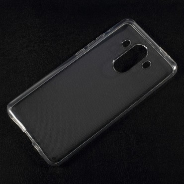 Kryt TPU gel pro Huawei Mate 10 Pro - průhledný
