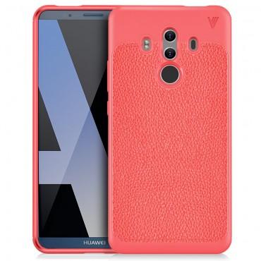 """Kryt TPU gel """"Gentry"""" pro Huawei Mate 10 Pro - červené"""