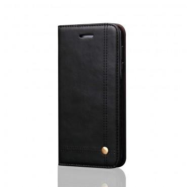 """Premium pouzdro """"Elegant"""" pro Huawei Mate 10 Pro z umělé kůže - černé"""
