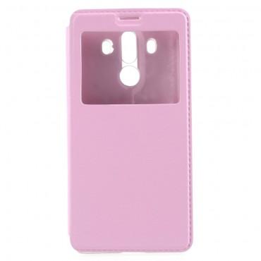 """Moderní pouzdro """"Window"""" pro Huawei Mate 10 Pro - růžový"""