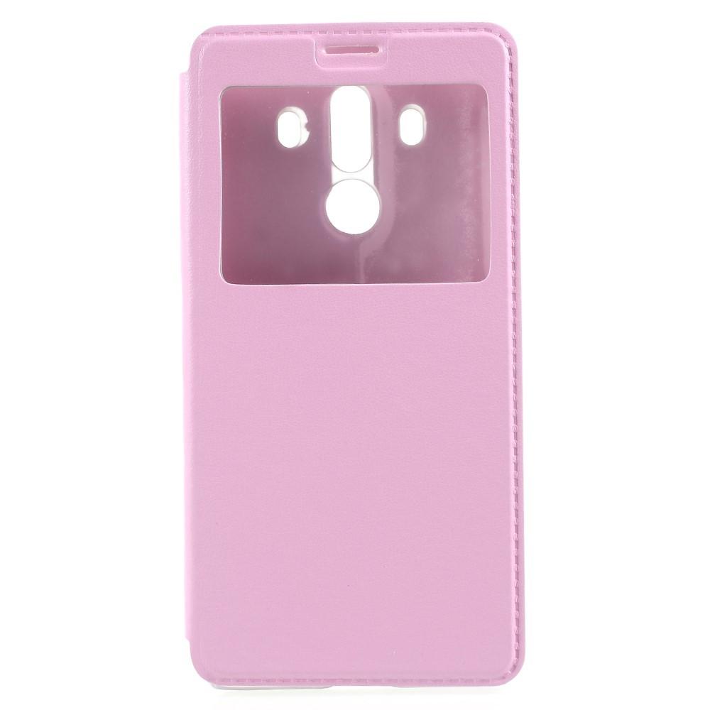"""Módní kryt """"Window"""" pro Huawei Mate 10 Pro - růžový"""