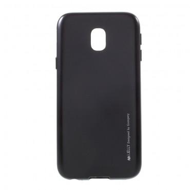Kryt TPU gel Goospery iJelly Case Samsung Galaxy J3 2017 - černý