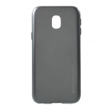 Kryt TPU gel Goospery iJelly Case pro Samsung Galaxy J3 2017 - šedý