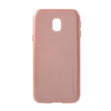 Kryt TPU gel Goospery iJelly Case pro Samsung Galaxy J3 2017 - růžový