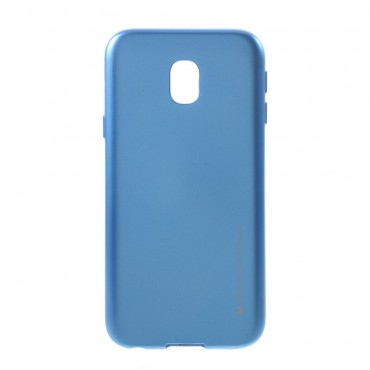 Kryt TPU gel Goospery iJelly Case pro Samsung Galaxy J3 2017 - modrý