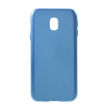 TPU gelový obal Goospery iJelly Case Samsung Galaxy J3 2017 - modrý