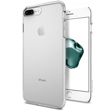 """Obal Spigen """"Thin Fit"""" pro iPhone 8 Plus / iPhone 7 Plus - křišťálově jasný"""