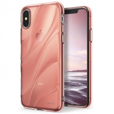 """Obal Ringke """"Flow"""" pro iPhone X - růžově zlatý"""