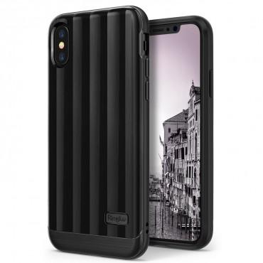 "Kryt Ringke ""Flex S Pro"" pro iPhone X - titanium black"