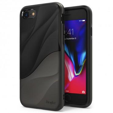 "Kryt Ringke ""Wave"" pro iPhone 8 / iPhone 7 - metallic chrome"