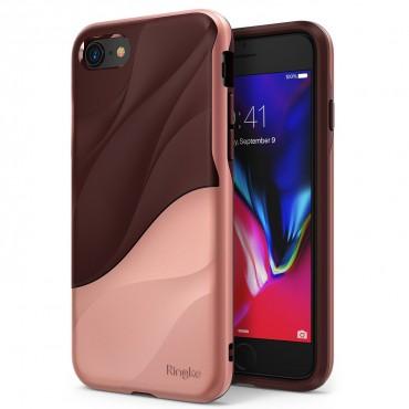 "Kryt Ringke ""Wave"" pro iPhone 8 / iPhone 7 - rose blush"