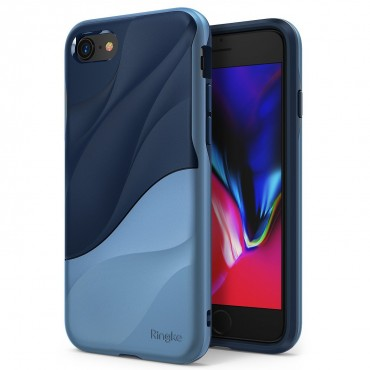 "Kryt Ringke ""Wave"" pro iPhone 8 / iPhone 7 - coastal blue"