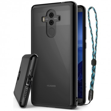 """Obal Ringke """"Fusion"""" pro Huawei Mate 10 Pro - inkoustově černý"""