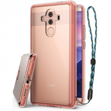 """Obal Ringke """"Fusion"""" pro Huawei Mate 10 Pro - růžově zlatý"""