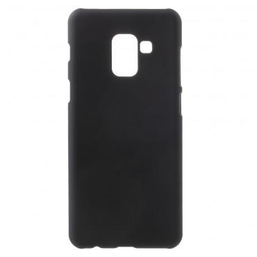Pevný kryt TPU pro Samsung Galaxy A8 2018 - černý